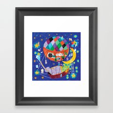 the star cleaners Framed Art Print