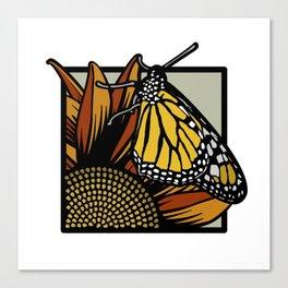Flora & Fauna II Canvas Print