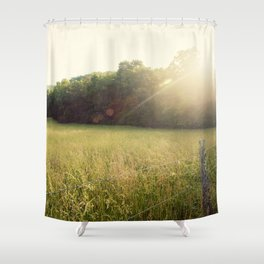 Morning in Cades Cove Shower Curtain