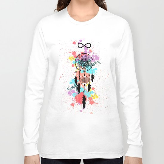 Catch your Dreams! Long Sleeve T-shirt