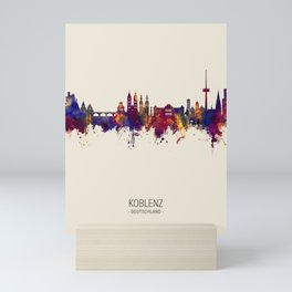Koblenz Germany Skyline Mini Art Print