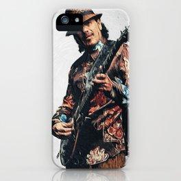 Carlos Santana iPhone Case