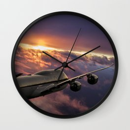 The Aircraft Wall Clock