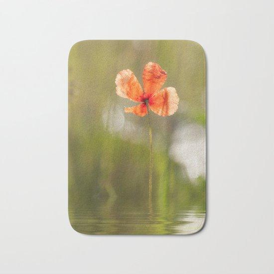 Swimming Poppyblossom Poppy Poppies Bath Mat