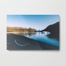 Grewingk Glacier II Metal Print