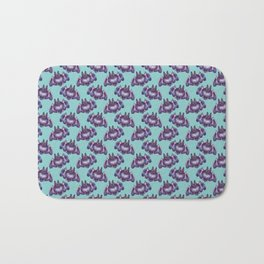 bat pattern Bath Mat