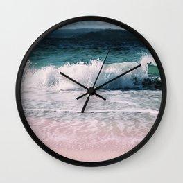 Crash into me (Samana Island Dominican Republic) Wall Clock
