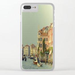 Venice, Grand Canal 1 Clear iPhone Case