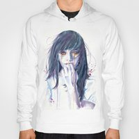 alice Hoodies featuring Alice by Cora-Tiana