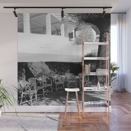 Thinking Chairs Wall Mural