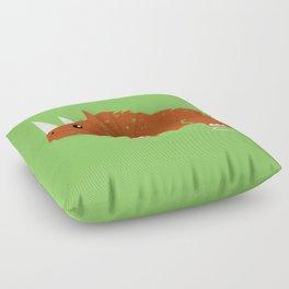 Woolly Rhino Floor Pillow