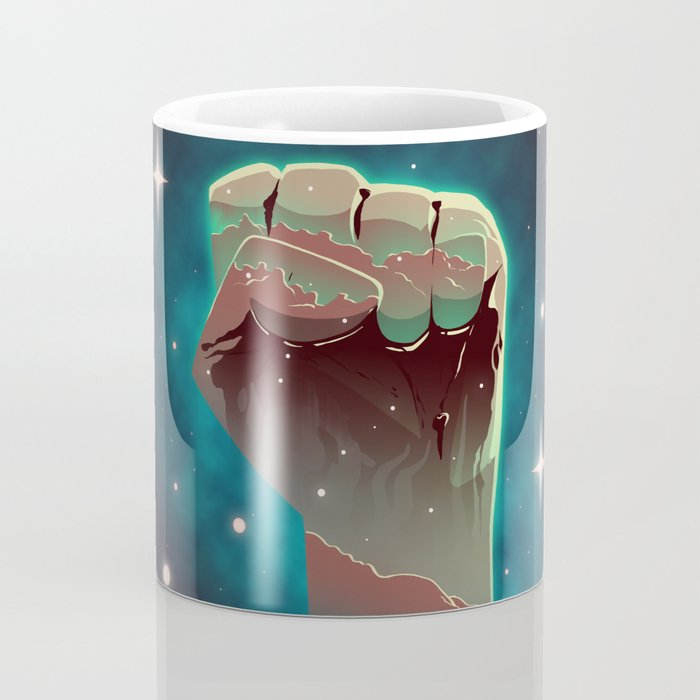 For The Benefit of All, Resist Coffee Mug