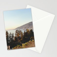 california sunset Stationery Cards