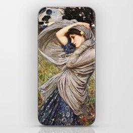 John William Waterhouse - Boreas iPhone Skin