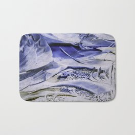 Melting Glacier Bath Mat
