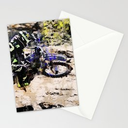 Wild Ride - Motocross Rider Stationery Cards