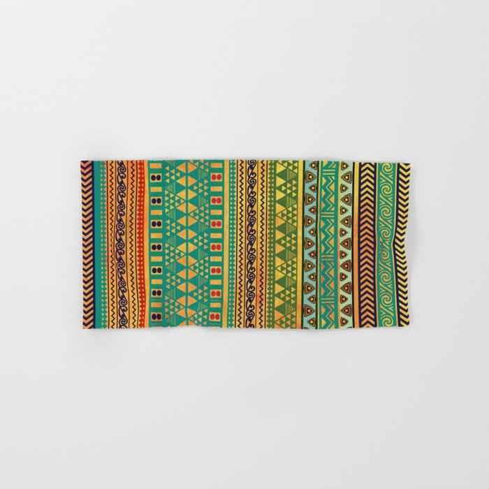 Inspired Aztec Pattern 3 Hand & Bath Towel