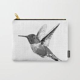Hummingbird-Flying-Bird-Animal,Nectar-Flower Carry-All Pouch