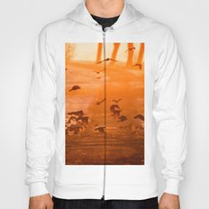 Birds on the field Hoody