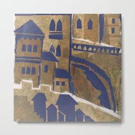 Medieval town-2 Metal Print