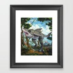 T-Shark Framed Art Print