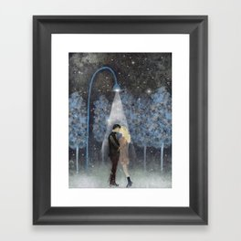 That magic moment Framed Art Print