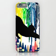 The cat got into the crayons iPhone 6s Slim Case