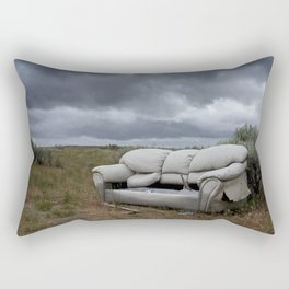 The End Times Sofa Rectangular Pillow