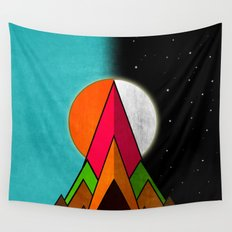 Day & Night Nature Wall Tapestry