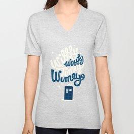 Wibbly Wobbly Timey Wimey Unisex V-Neck