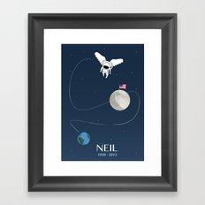 Goodbye Neil Framed Art Print