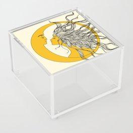 Sun and Moon Acrylic Box