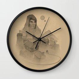 Trap Wall Clock