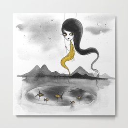 Fishie Metal Print