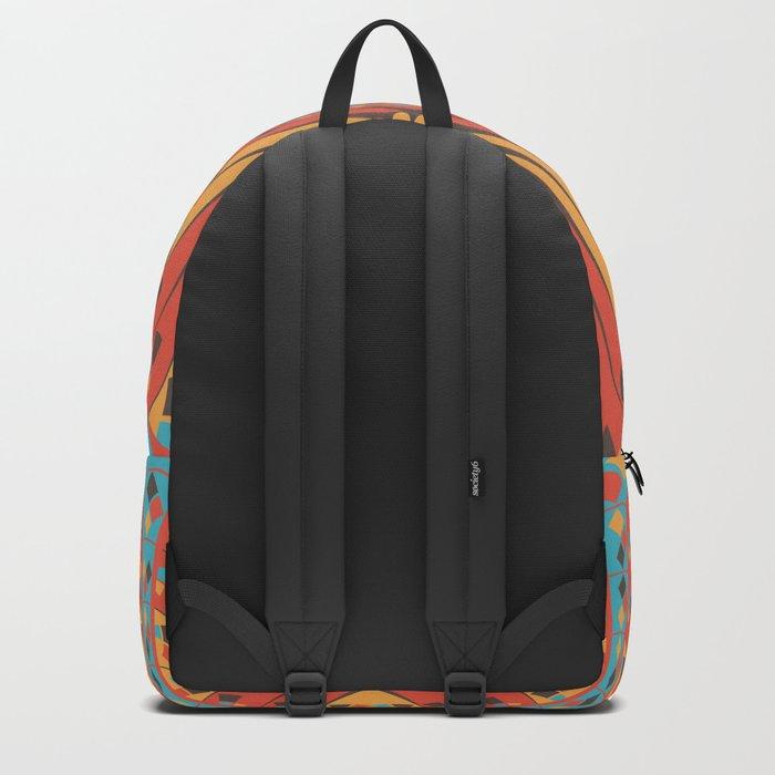 Geometric extravaganza pattern Backpack