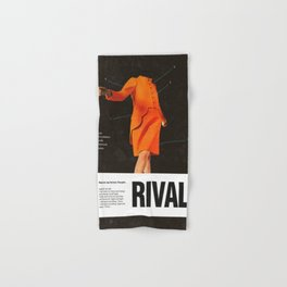 Self Rival Hand & Bath Towel
