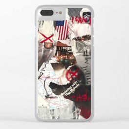 no weapon formed against me. Clear iPhone Case