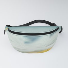 Wave after wave - abstract seascape  Fanny Pack