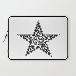 BLACK DESIGN5 Abstract Art Laptop Sleeve