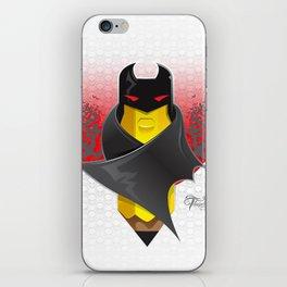 Bat Mark iPhone Skin