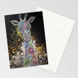 Mystical Safari Series #4 Giraffe Offspring Stationery Cards