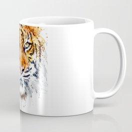 Tiger Face Close-up Coffee Mug