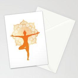 meditation for people who like meditation and yoga  Stationery Cards