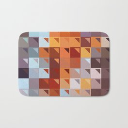Sophistication of Color Bath Mat