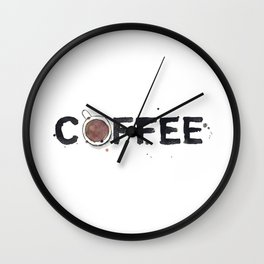 Favourite Things - Coffee Wall Clock