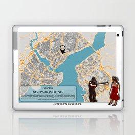 Atlas of Inspiring Protests; ISTANBUL Laptop & iPad Skin