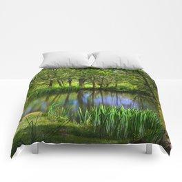 Spring views Comforters