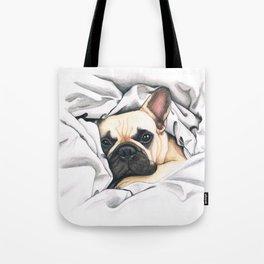 French Bulldog - F.I.P. - Miuda Frenchie Tote Bag