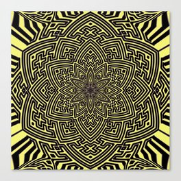 sayagata lotus Canvas Print