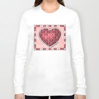 confetti Long Sleeve T-shirts featuring Confetti by Shelley Ylst Art